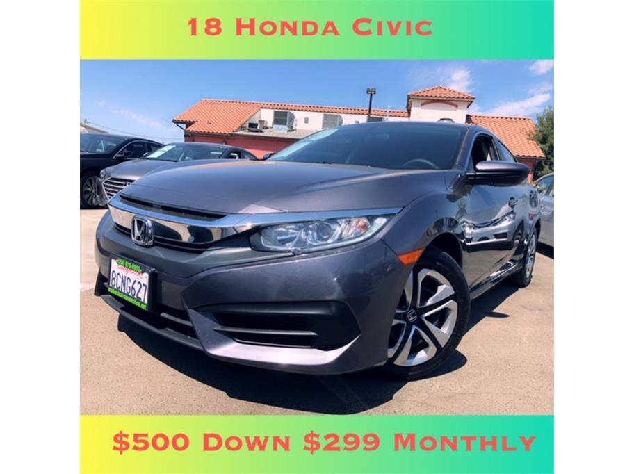2018 Honda Civic LX Sedan 4D