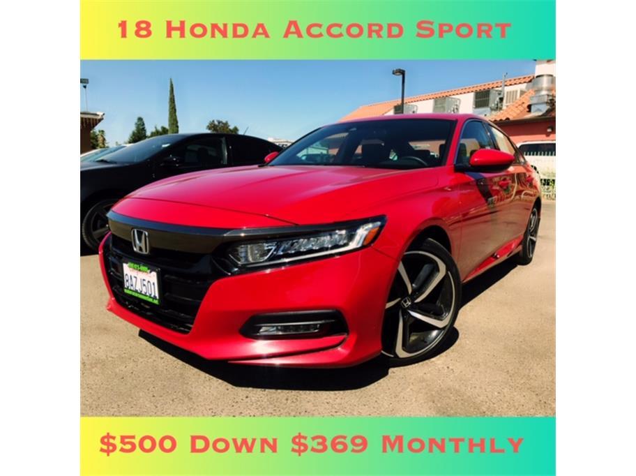 2018 Honda Accord Sport Sedan 4D