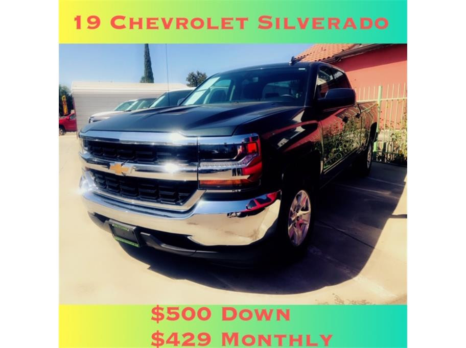 2019 Chevrolet Silverado 1500 LD Double Cab LT Pickup 4D 6 1/2 ft