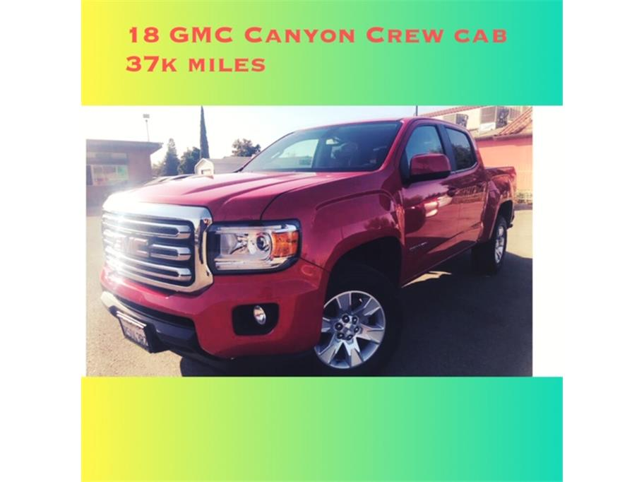 2018 GMC Canyon Crew Cab SLE Pickup 4D 6 ft