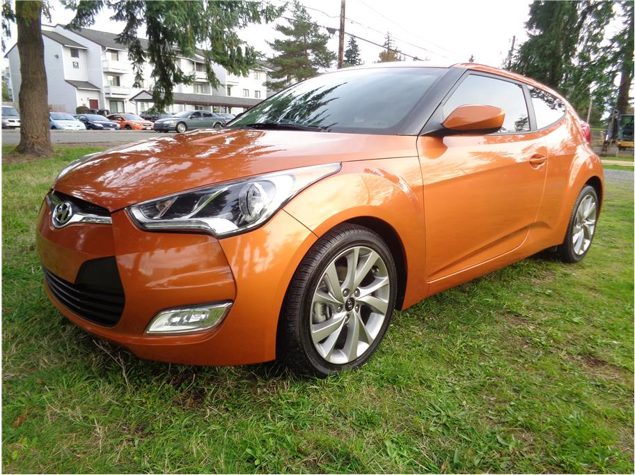 2017 Hyundai Veloster Value Edition Coupe 3D