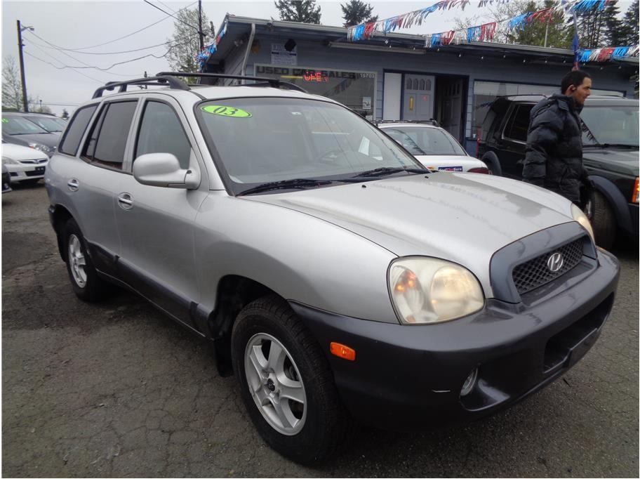 2003 Hyundai Santa Fe GLS Sport Utility 4D