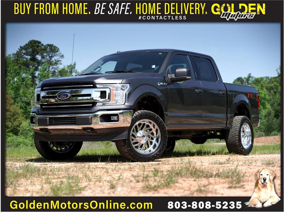 2018 Ford F150 SuperCrew Cab from GOLDEN MOTORS