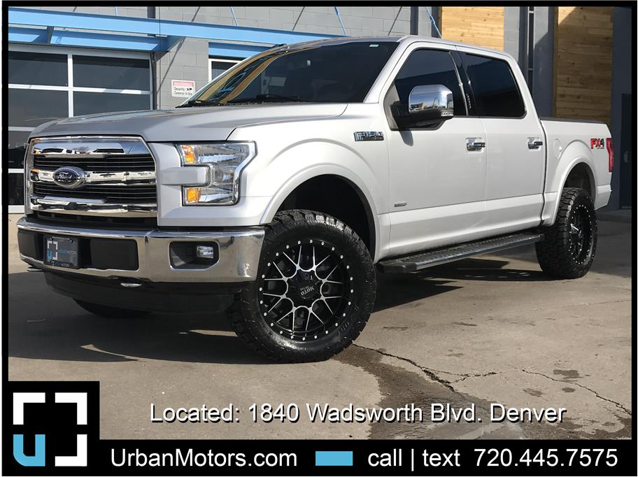 2016 Ford F150 SuperCrew Cab from Urban Motors