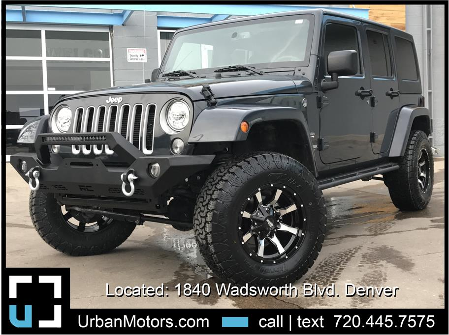 2018 Jeep Wrangler Unlimited from Urban Motors