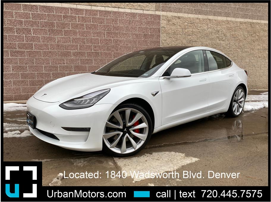 2018 Tesla Model 3 from Urban Motors