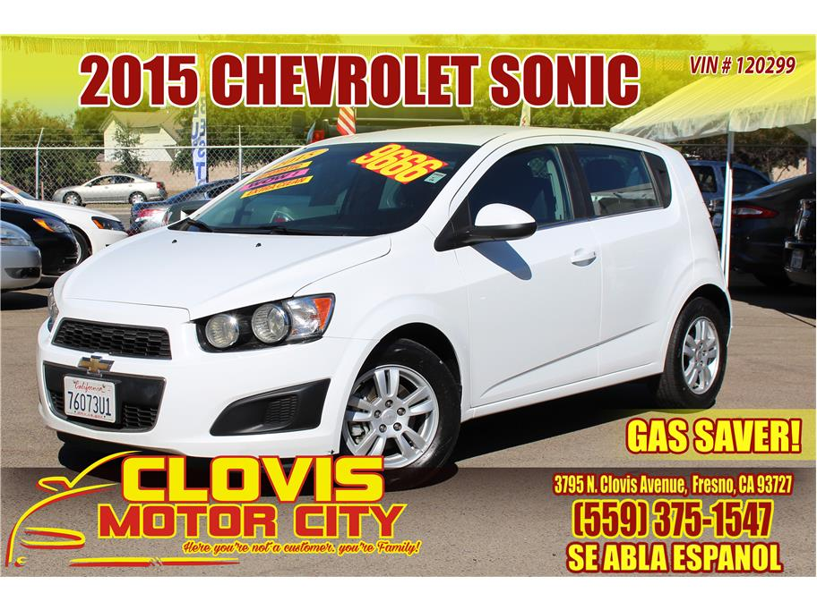 2015 Chevrolet Sonic from Clovis Motor City
