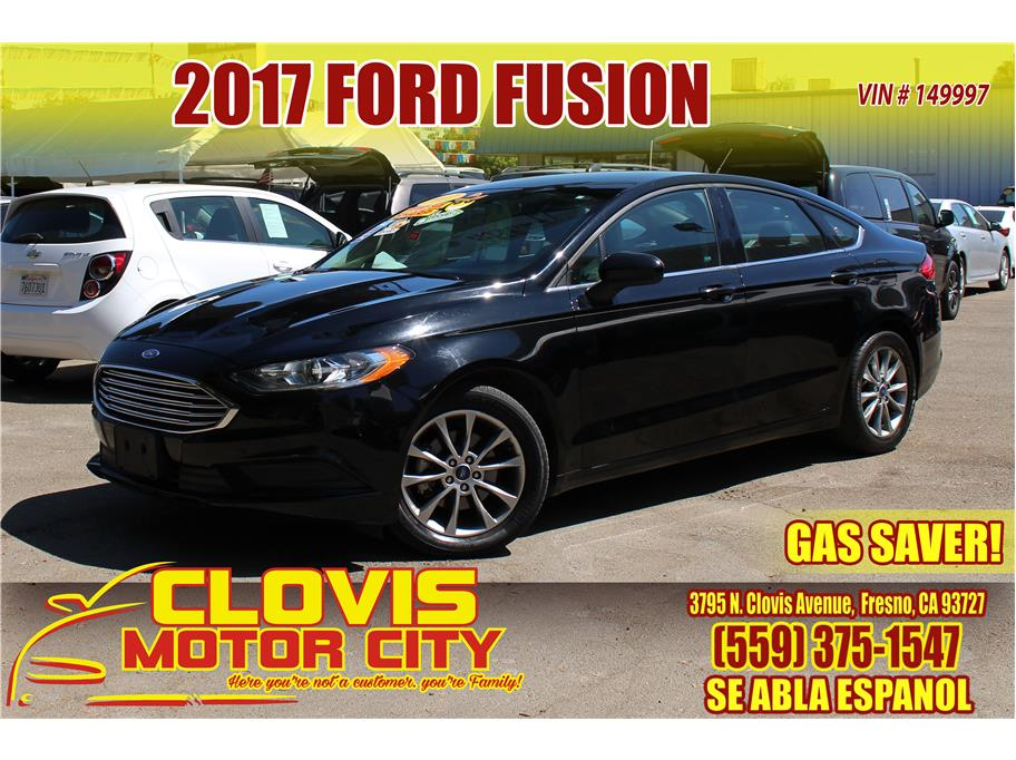 2017 Ford Fusion from Clovis Motor City