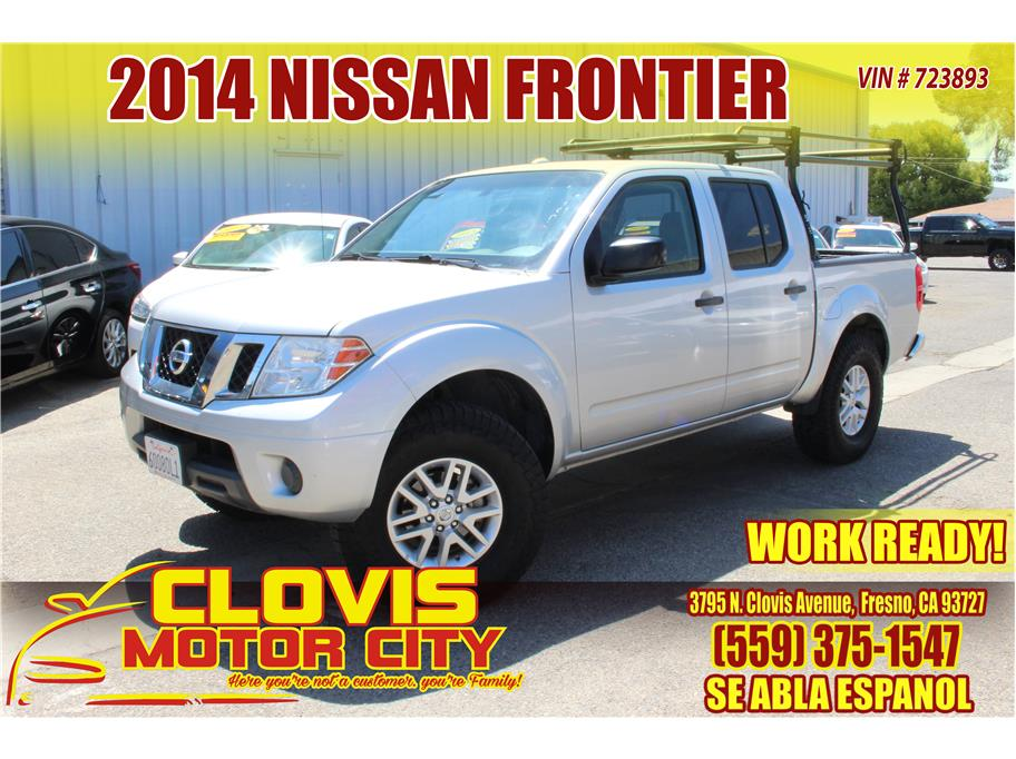 2014 Nissan Frontier Crew Cab from Clovis Motor City