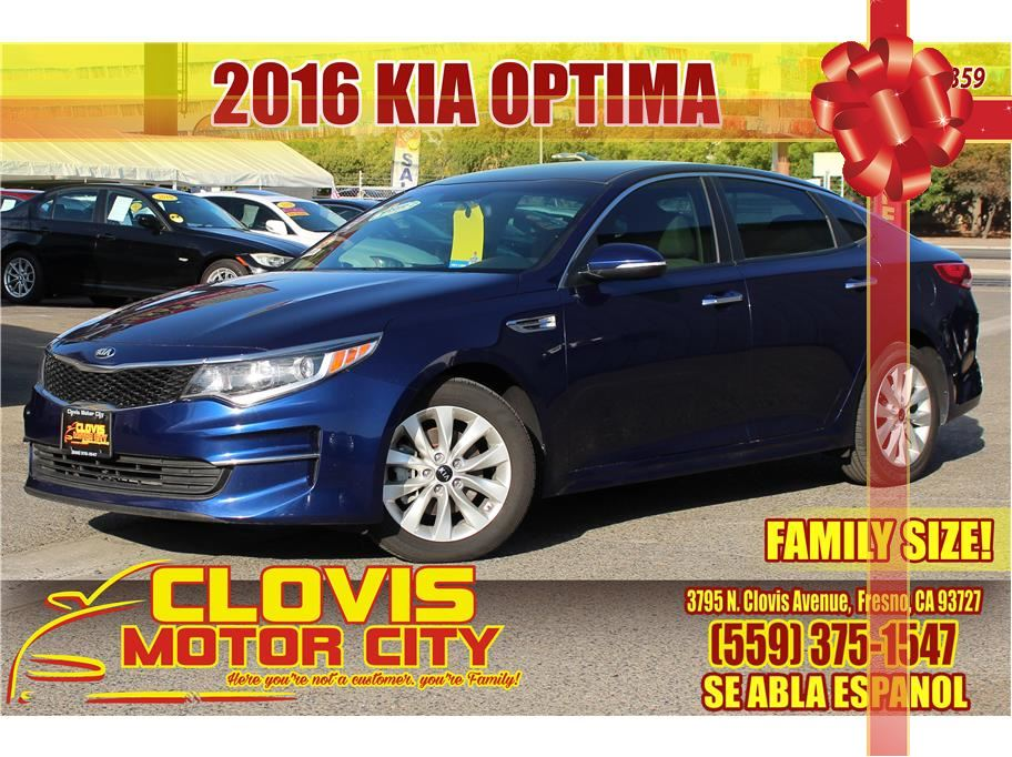 2016 Kia Optima from Clovis Motor City