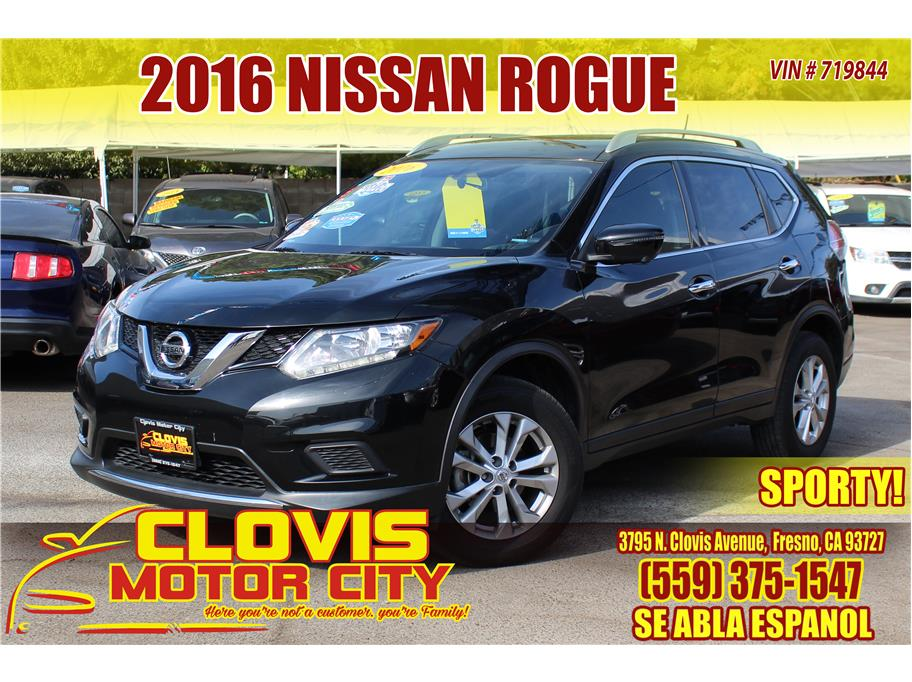 2016 Nissan Rogue from Clovis Motor City
