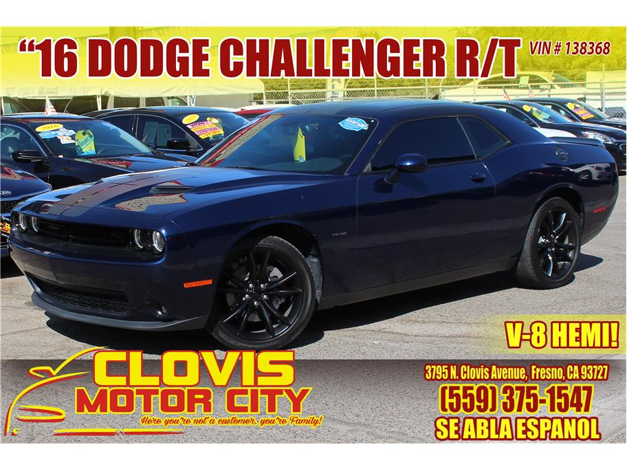 2016 Dodge Challenger from Clovis Motor City