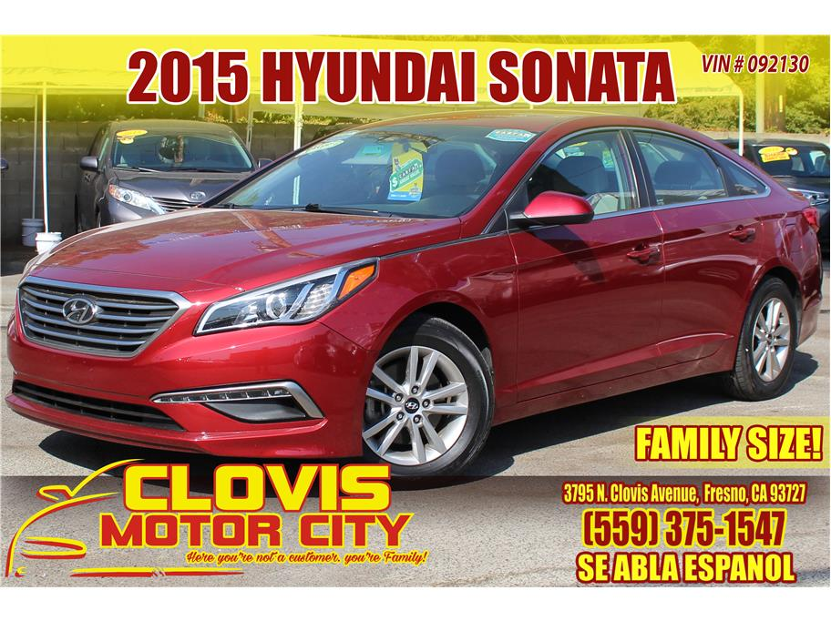 2015 Hyundai Sonata from Clovis Motor City