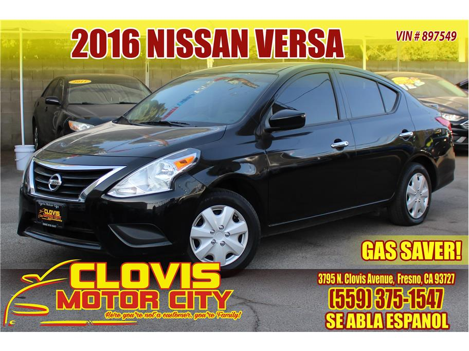 2016 Nissan Versa from Clovis Motor City