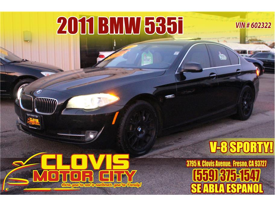 2011 BMW 5 Series from Clovis Motor City