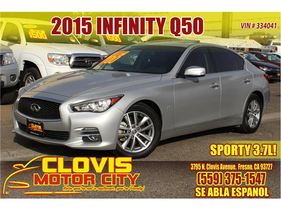 2015 INFINITI Q50 from Clovis Motor City