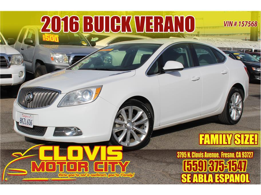 2016 Buick Verano from Clovis Motor City