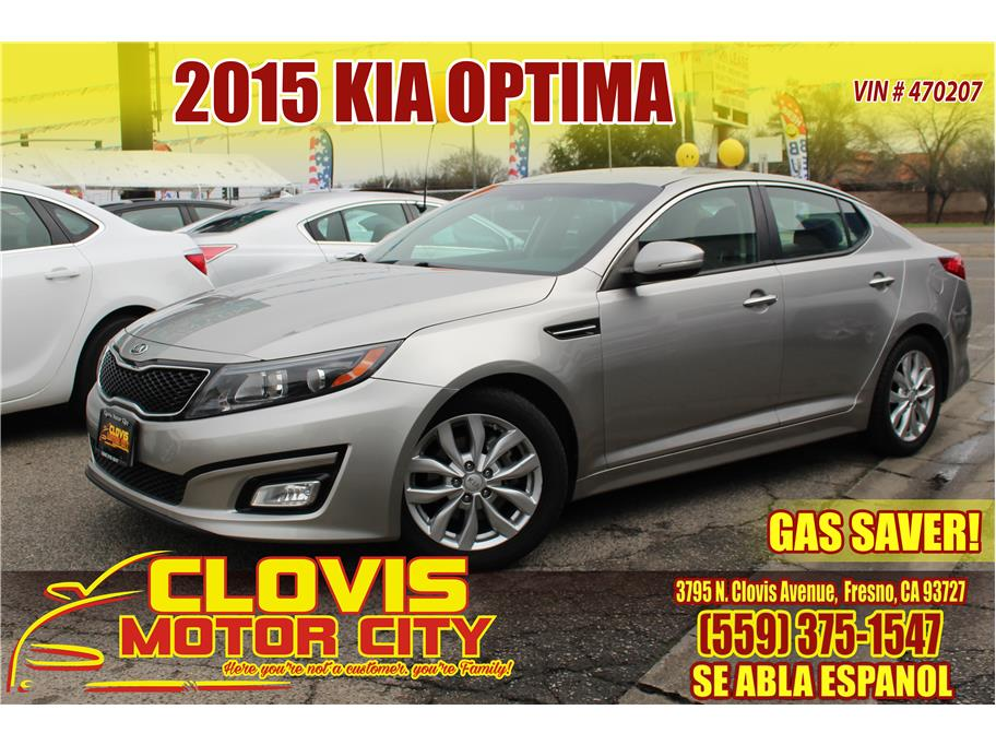 2015 Kia Optima from Clovis Motor City