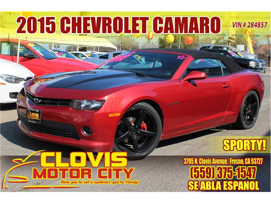 2015 Chevrolet Camaro from Clovis Motor City