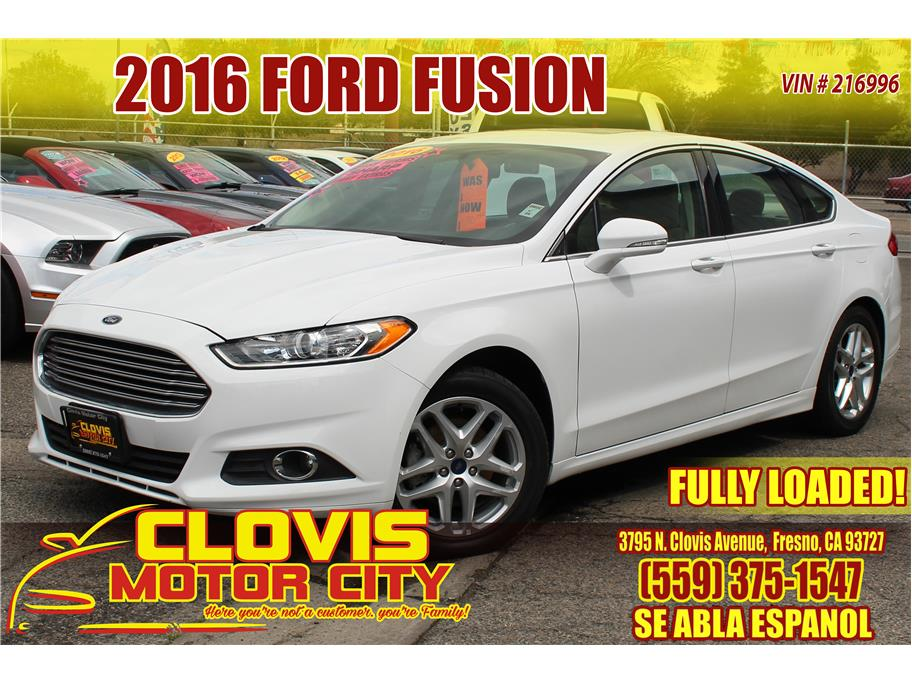2016 Ford Fusion from Clovis Motor City