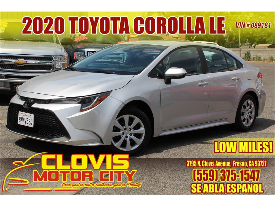 2020 Toyota Corolla from Clovis Motor City