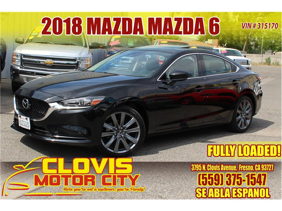 2018 MAZDA MAZDA6 from Clovis Motor City