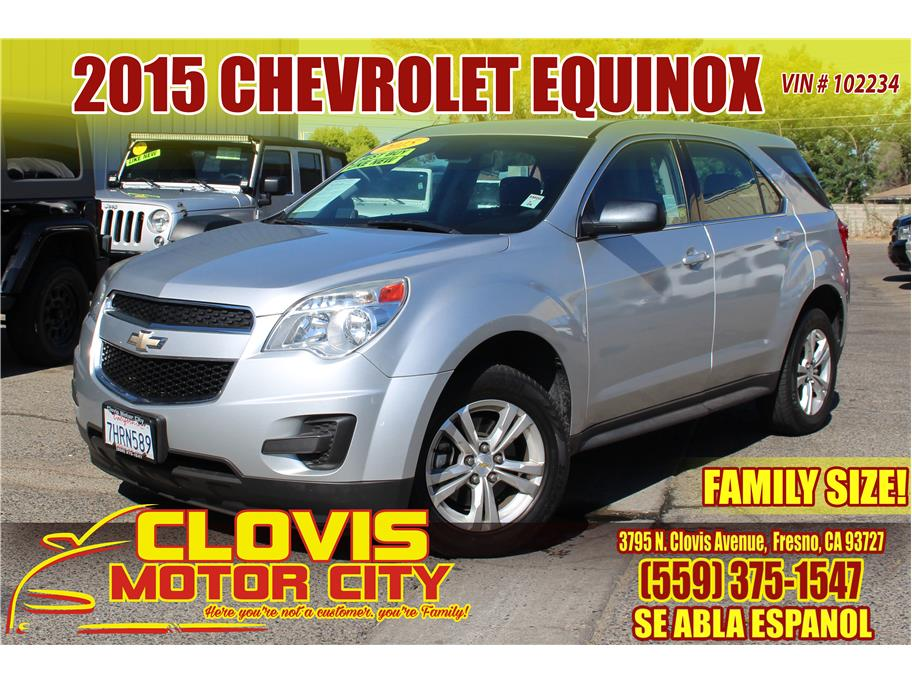 2015 Chevrolet Equinox from Clovis Motor City