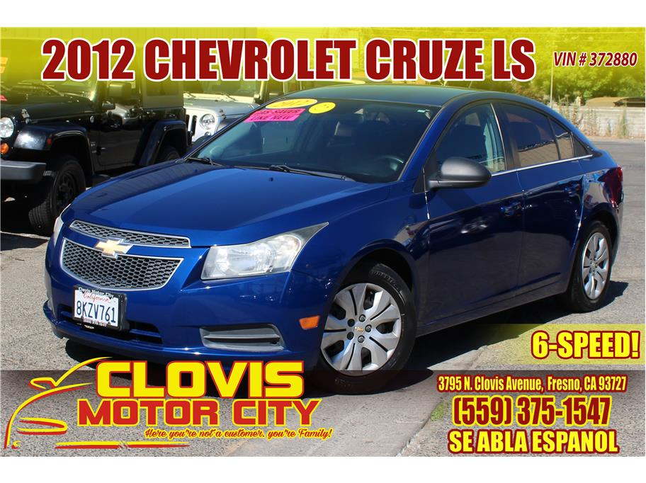 2012 Chevrolet Cruze from Clovis Motor City