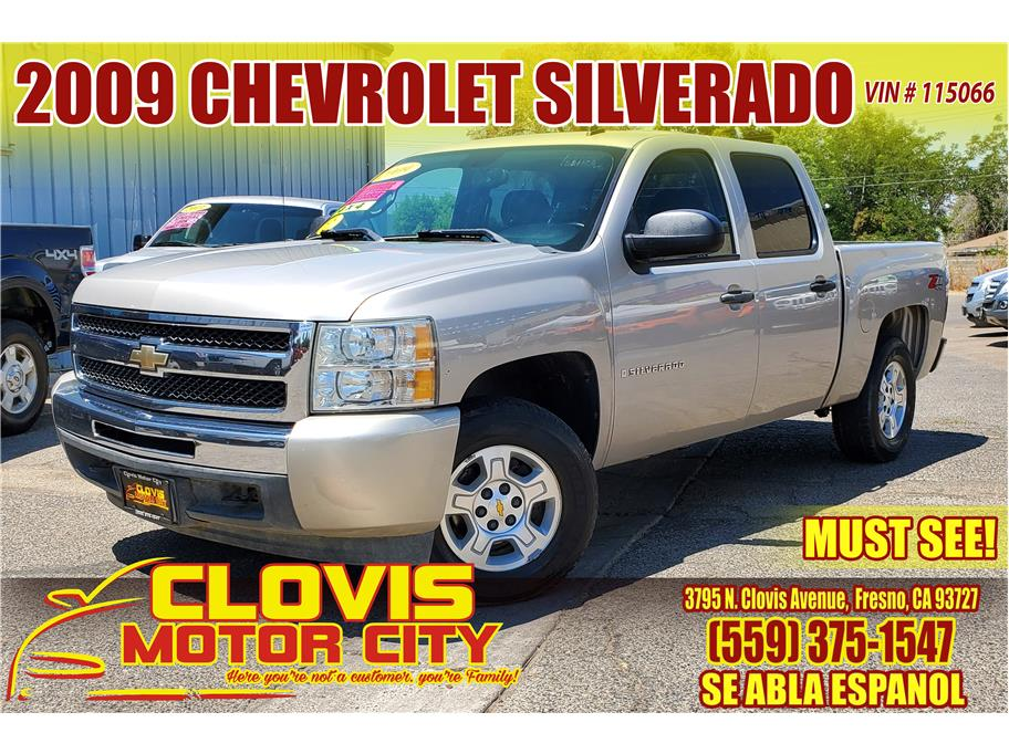 2009 Chevrolet Silverado 1500 Crew Cab from Clovis Motor City
