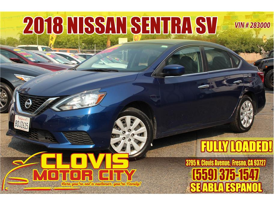 2018 Nissan Sentra from Clovis Motor City