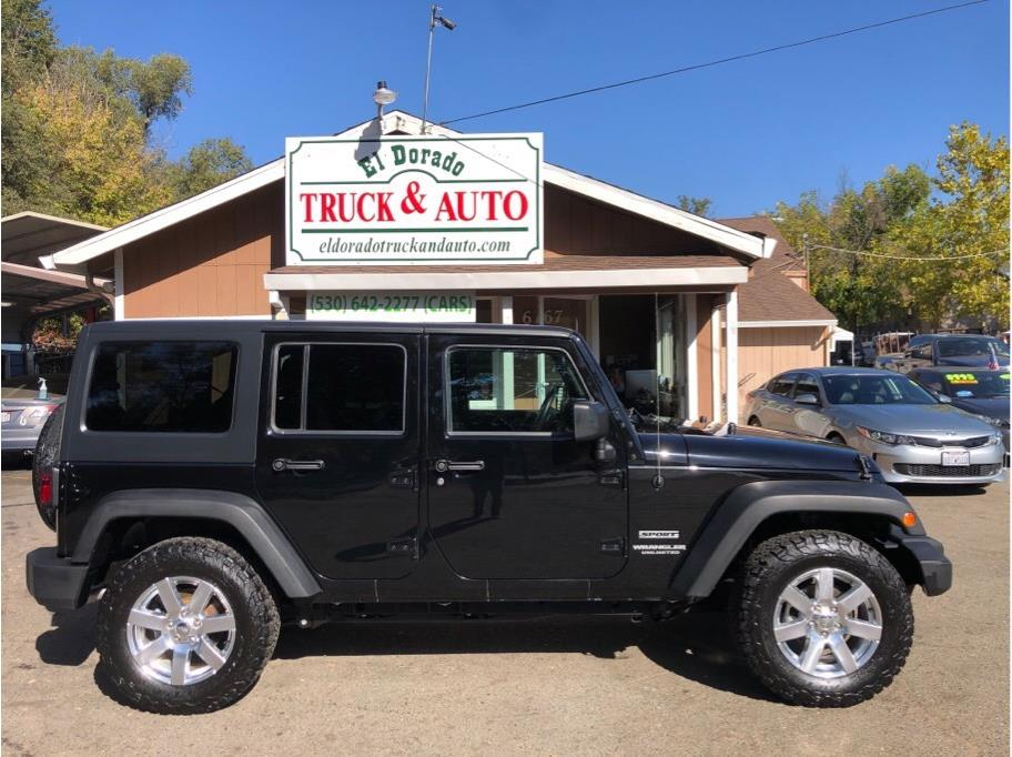 2016 Jeep Wrangler from El Dorado Truck and Auto
