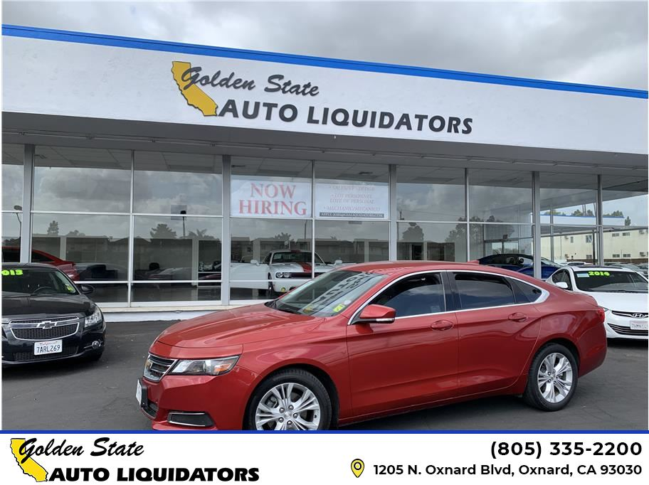 2015 Chevrolet Impala from Golden State Auto Liquidators