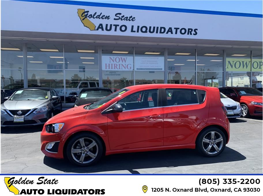 2014 Chevrolet Sonic from Golden State Auto Liquidators
