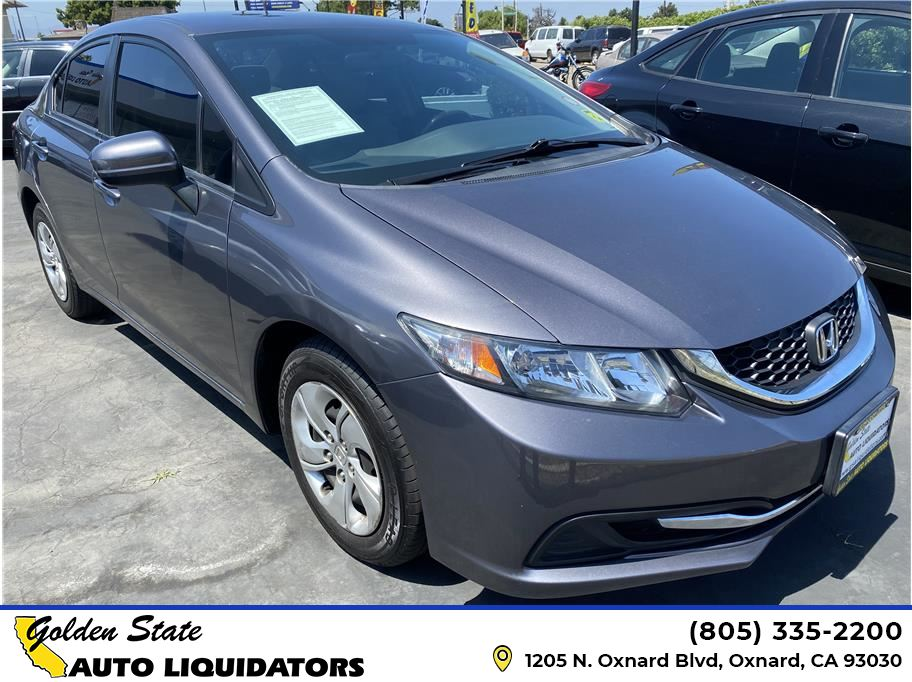 2015 Honda Civic from Golden State Auto Liquidators