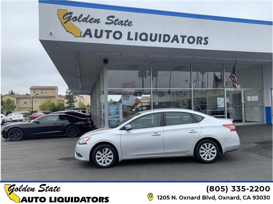 2014 Nissan Sentra from Golden State Auto Liquidators