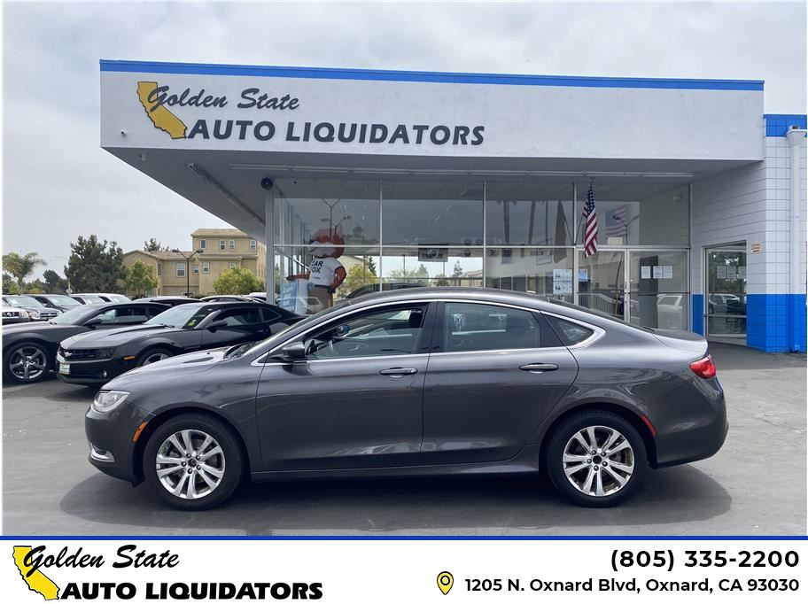2015 Chrysler 200 from Golden State Auto Liquidators