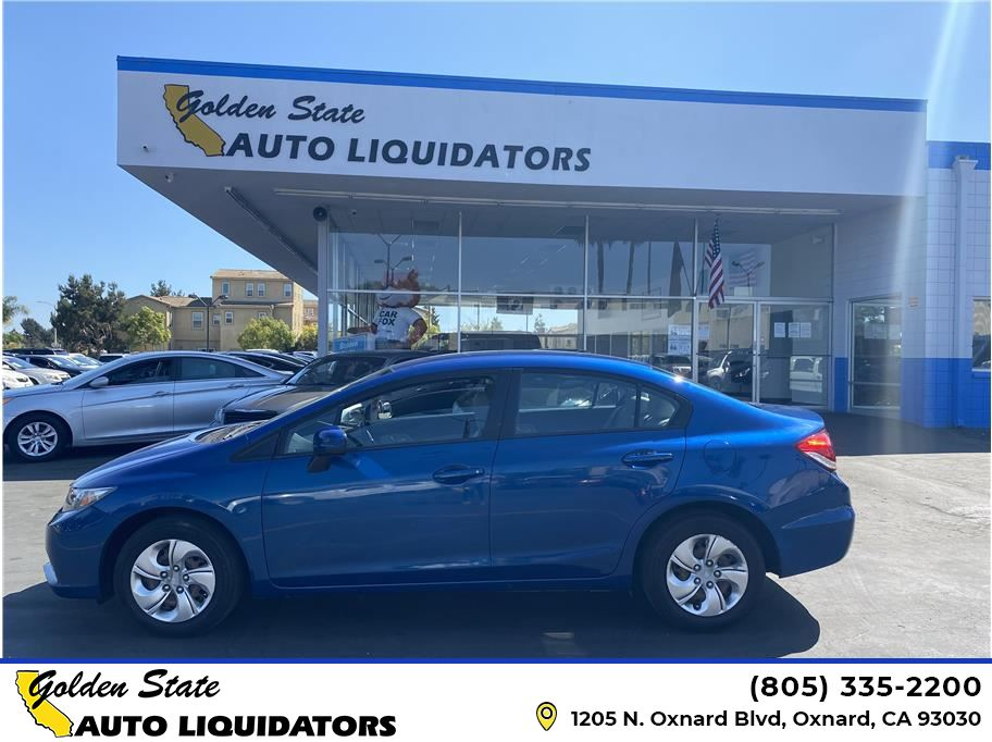 2014 Honda Civic from Golden State Auto Liquidators