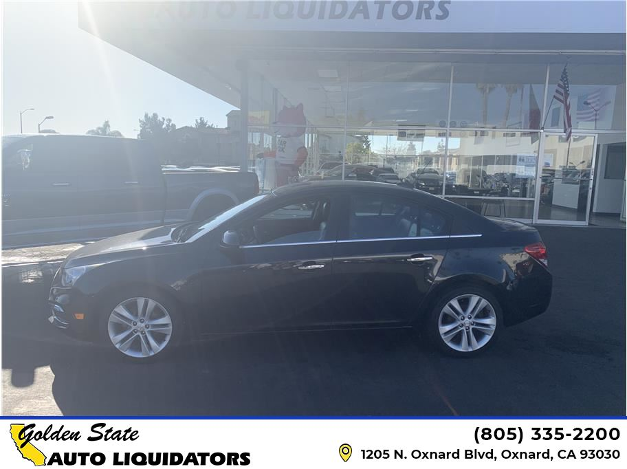 2016 Chevrolet Cruze Limited from Golden State Auto Liquidators