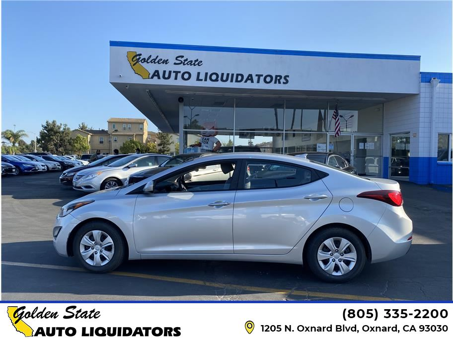 2016 Hyundai Elantra from Golden State Auto Liquidators