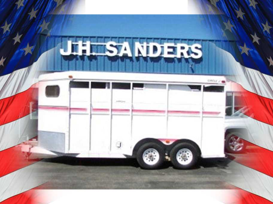 1992 Circle J 3 horse BP from JH Sanders