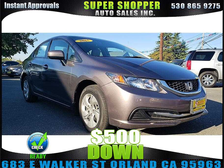 2015 Honda Civic from Super Shopper Auto Sales Inc