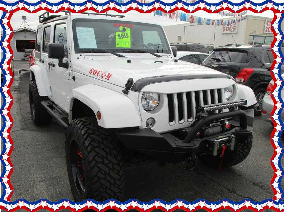 2017 Jeep Wrangler Unlimited from Affordable Auto Liquidators LLC