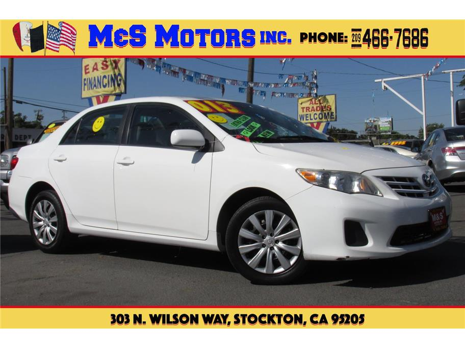 2013 Toyota Corolla from M & S Motors