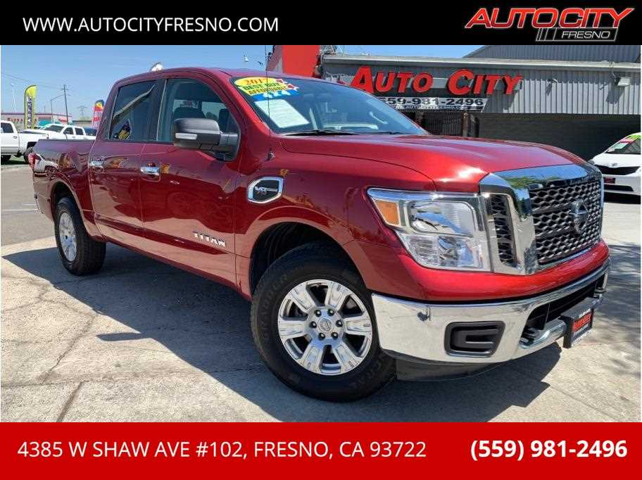 2017 Nissan Titan Crew Cab from Auto City
