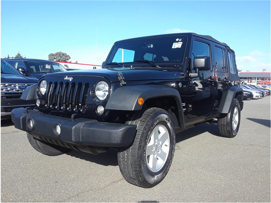 2018 Jeep Wrangler Unlimited from Hayward Mitsubishi