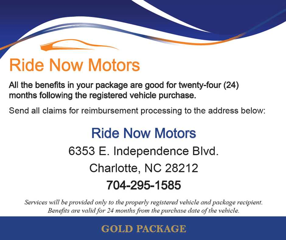 Free annual checkup for Ride now motors monroe nc