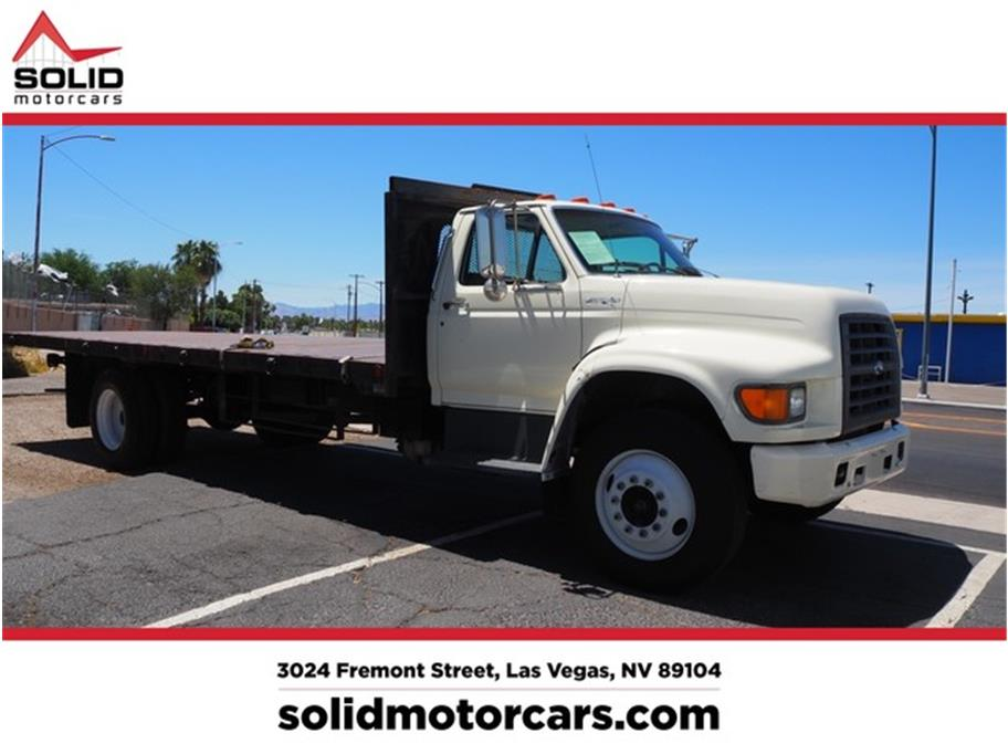 1998 Ford F-800 22 foot flatbed