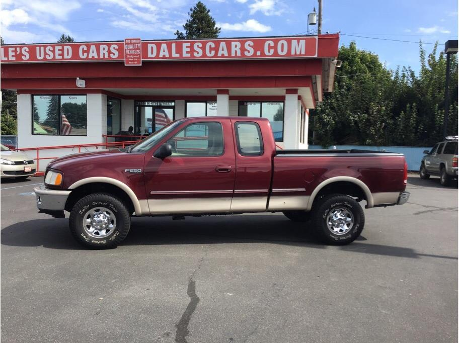 1997 Ford F-250 Low Miles for the year