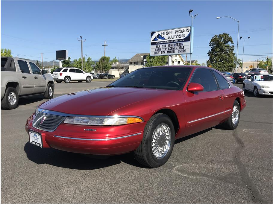 1996 Lincoln Mark VIII Coupe 2D