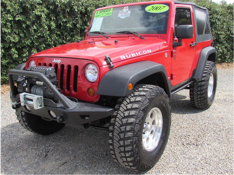 2007 Jeep Wrangler Rubicon Sport Utility 2D